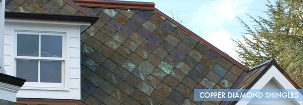 Copper Diamond Roofing | Home Remodeling Ideas | Pinterest | Copper Roof,  Roof Colors And Remodeling Ideas