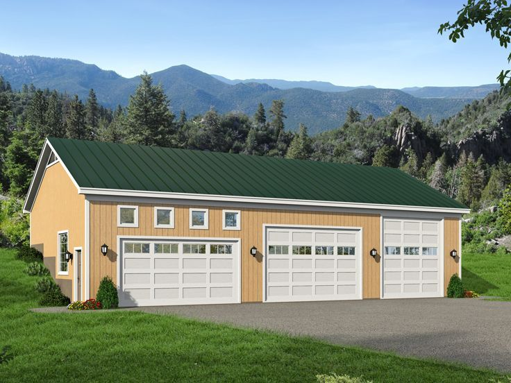 1000 Images About 4 Car Garage Plans On Pinterest
