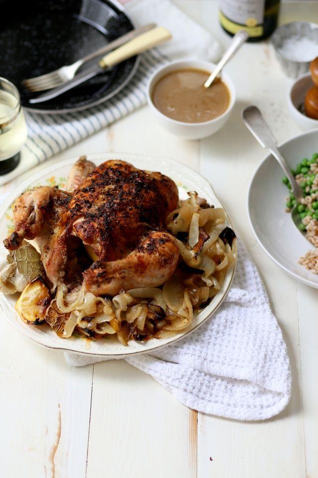 Slight Fear of Commitment Roast Chicken | http://joythebaker.com/2015/09/roast-chicken/
