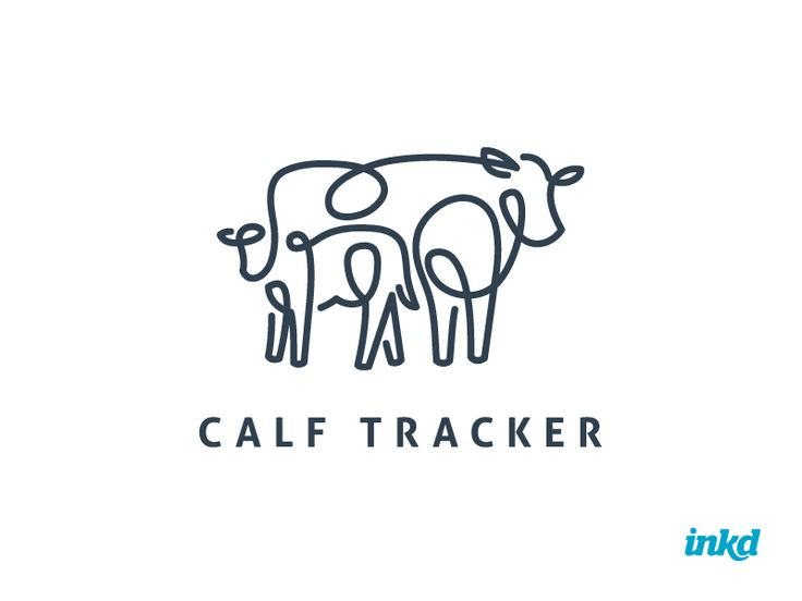 This logo design is sure to MOOOOOOOOOVE you!  #logo #design #cow