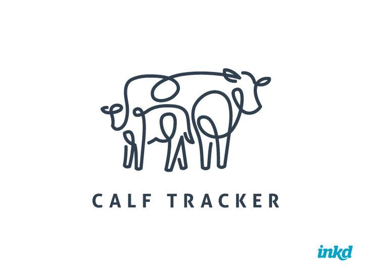 This logo design is sure to MOOOOOOOOOVE you!  #logo #design #cow