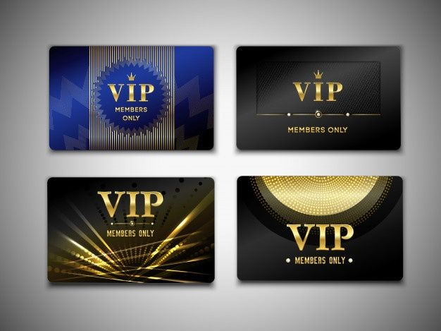 Download Vip Cards Template For Free Vip Card Design Vip Card Id Card Template