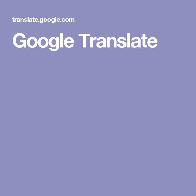 Google Translate Russian Felters