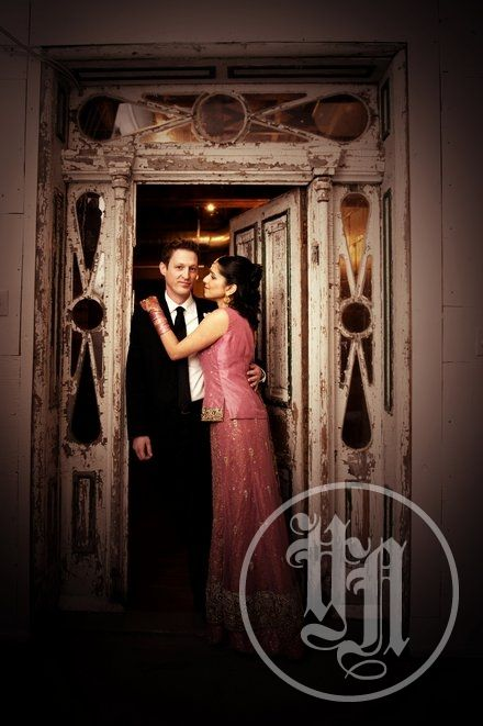 Wedding Pictures with a cinematic quality at Berkeley Church