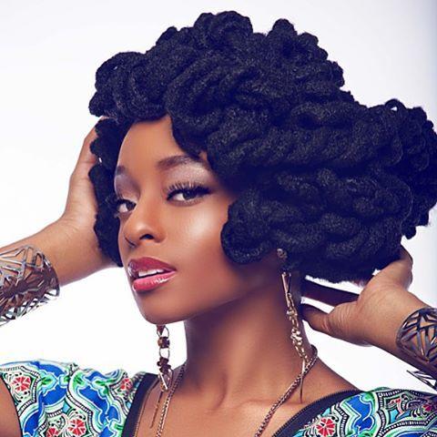 black woman model with dreadlocks on pinterest fingerwaves