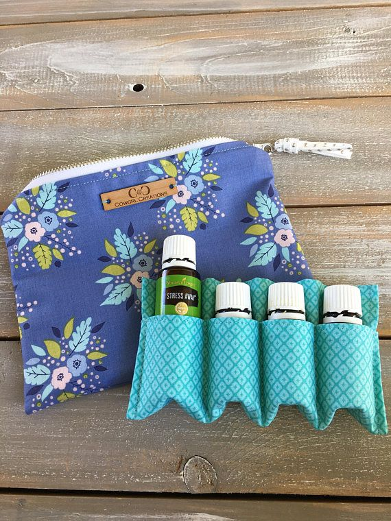 Essential Oil Bag With Insert oil storage carrying case