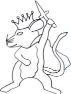 Mouse King Coloring Page