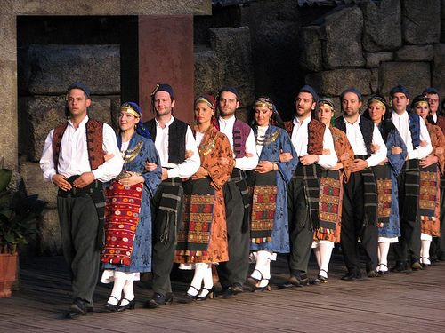 Greek Dances (Dora Stratou Theatre)..