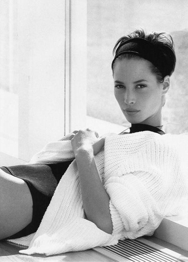 Sweater Muse: Christy Turlington