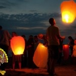 There's something almost majestic about sky lanterns.  Here's a place online where you can order them..