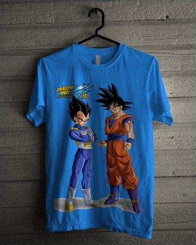 Kaos Dragon Ball Vegeta Goku 2 - BikinKaosSatuan