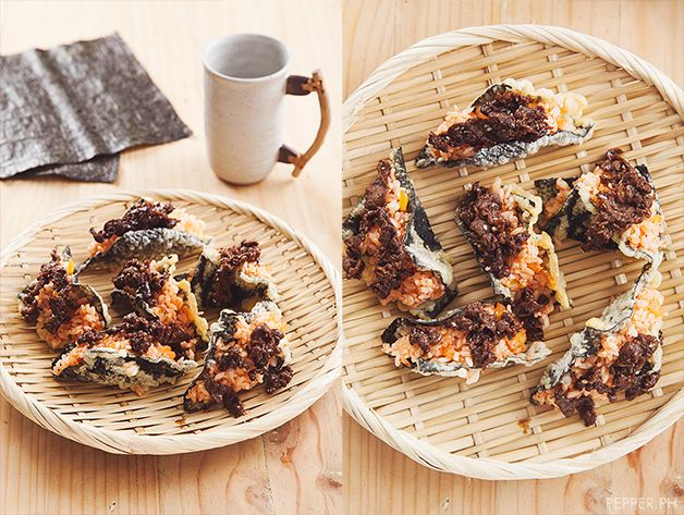 These Tacos Wrapped in Fried Seaweed will make you Rethink Tacos   Pepper.ph