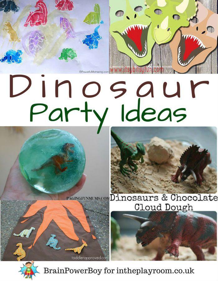 Dinosaur Birthday Party Ideas Bbd Pinterest Dinosaur Birthday