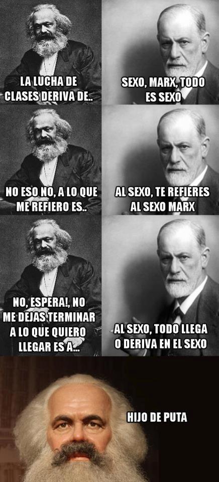 Jajaja! Siempre Freud!