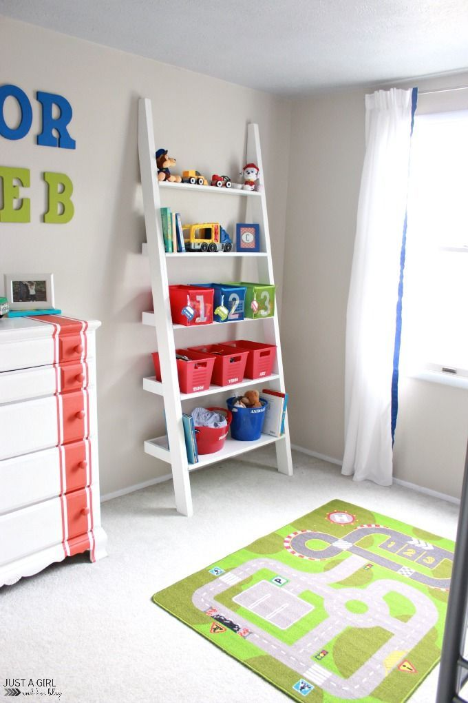 30 Creative Storage Ideas To Organize Kids Room 2019