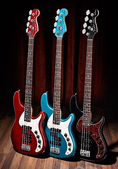 Fender Stu Hamm Urge Basses