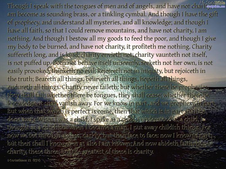 1st Corinthians chapter 13