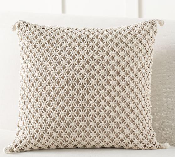 Eclectic Villa Planters Woven Pillows Pillow Covers