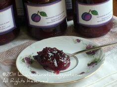 Marmellata di prugne e mele al limone - Marmelada de prune si mere cu parfum de lamiie - Lemony plum and apple jam