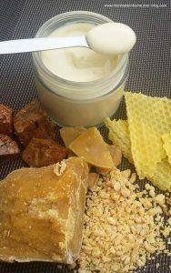 """""""L'abeille Crème"""" propolis, pollen, miel et gelée royale : régénérante et cicatrisante"""