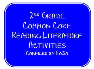 2nd grade common core.  WONDERFUL activities!Hojo Teaching, Grade Common, Literature Ideas, Literature Activities, Common Core Reading, Reading Literature, Common Cores, Teaching Adventure, Cores Reading