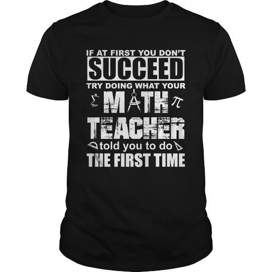 Awesome Tee Funny Math Teacher Lover Quotes Gift Teacher TShirt Shirts & Tees