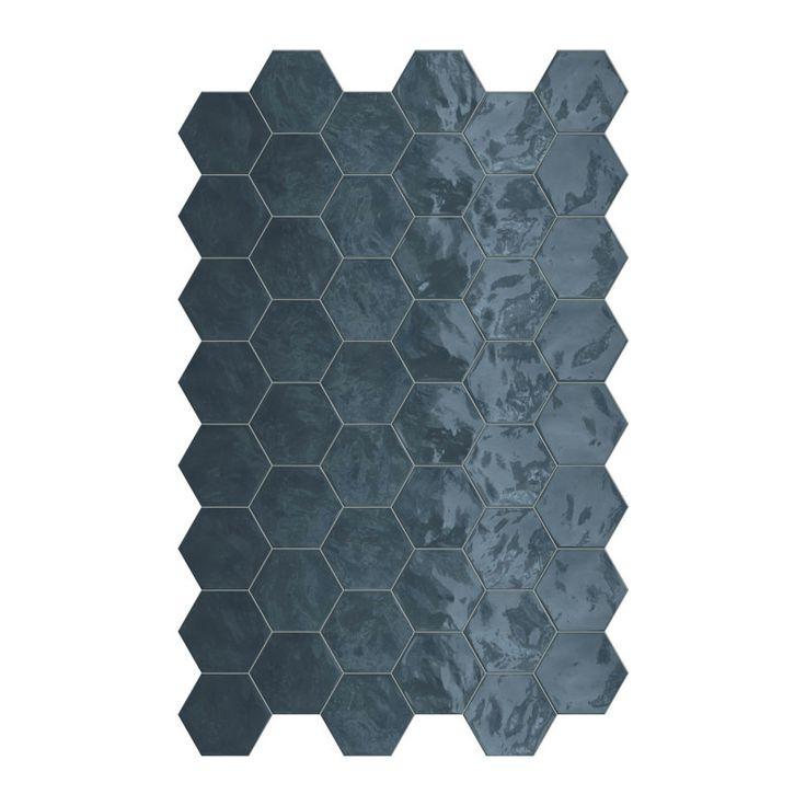 Carrelage Hexagonal Mur Hexa Wall Ocean En 2019