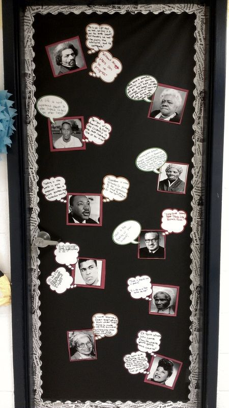 History Classroom Decor ~ Images about black history month door decorations on