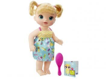 Boneca Baby Alive Escolinha Loira - HasbroPROMOÇÃO IMPERDÍVEL !  Boneca Baby Alive Escolinha Loira - Hasbro R$ 179,99 em até 5x de R$ 36,00 sem juros no cartão de crédito  ou R$ 161,99 à vista (10% Desc. já calculado.)