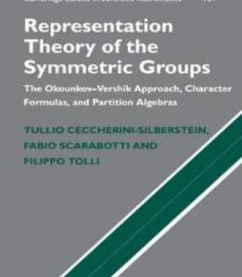 Representation Theory Of The Symmetric Groups: The Okounkov-Vershik Approach Character Formulas And Partition Algebras (Cambridge Studies In Advanced Mathematics) PDF