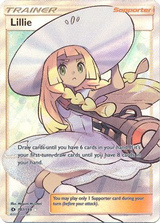 Pokemon TCG - Sun and Moon Base Set - Lillie (147/149) Trainer