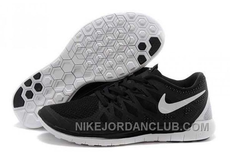 http://www.nikejordanclub.com/nike-free-50-2014-mens-black-white-shoes-wez35.html NIKE FREE 5.0 2014 MENS BLACK WHITE SHOES WEZ35 Only $74.00 , Free Shipping!