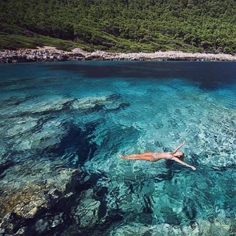 You belong somewhere you feel free.. #Mljet #Croatia #DubrovnikRiviera…
