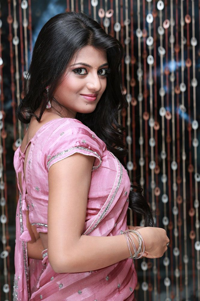 Actress Anandhi Latest Images In Saree