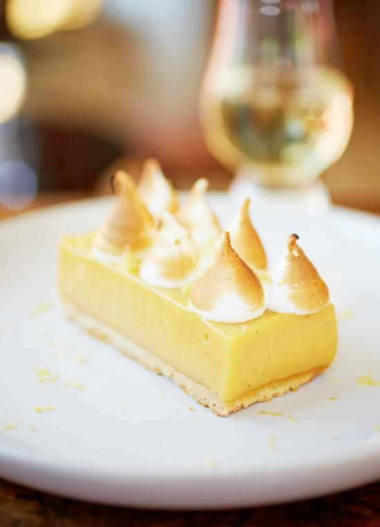 Zitronen-Baiser-Schnitten von Jamie Oliver   jamie magazin