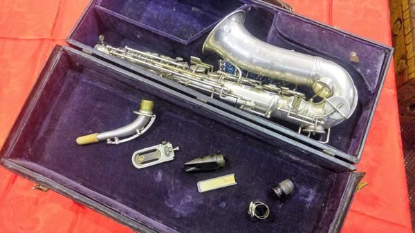 GA1076   -   Hawkes & Sons 20th century Piccadilly Circus London c1902 (EPNS) clarinet
