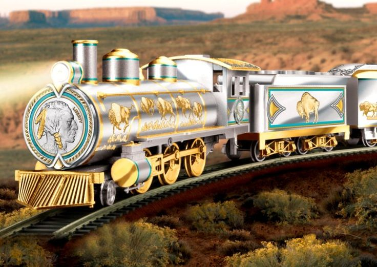 Silver Edition Train Collection: The Spirit Of The West Express