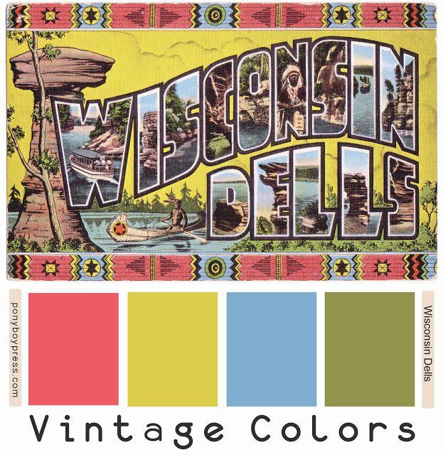 17 Best images about Vintage Color Palettes on Pinterest ...