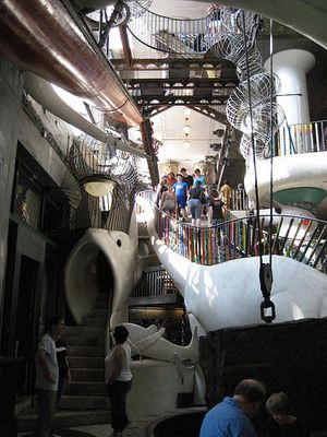 City Museum in St Louis, USA aka a super awesome adult playground.