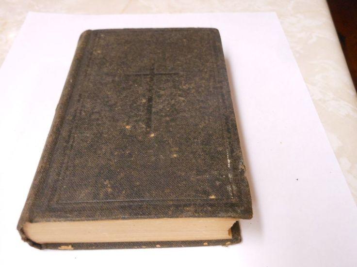 Circa 1892 The Protestant Episcopal Church Book of Common Prayer GOOD CONDITION