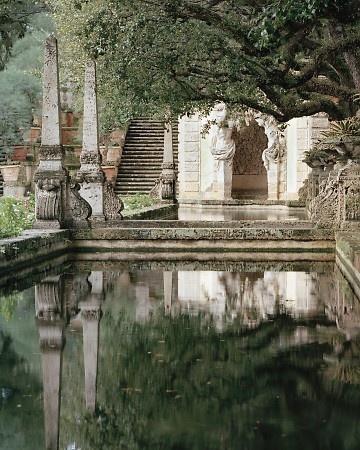 Vizcaya Estate: Gardens Stones, Gardens Ponds, Water Gardens, Dreams, Swim Pools, Miami, Beautiful, Formal Gardens, Gardens Tours