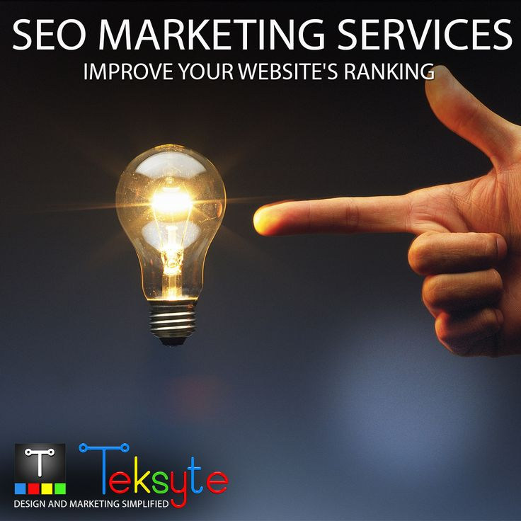 Get more clients with Search Engine Optimisation and Internet Marketing services. Contact us today to see how we can help you meet your online goals! http://www.teksyte.com?utm_content=buffer3bb91&utm_medium=social&utm_source=pinterest.com&utm_campaign=buffer #SEO #marketingagency #webservices #teksyte