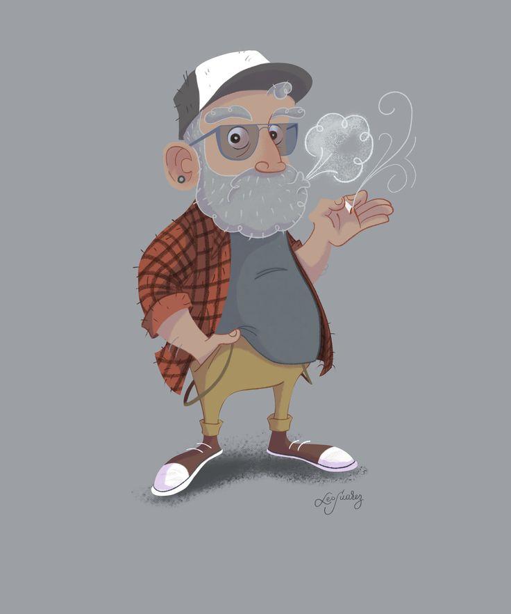 #digitalillustration #characterdesign #oldman