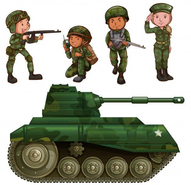 помощью картинки солдатиков и танков прошлое времена, когда