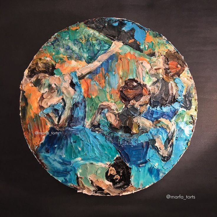 Дега, Шагал, Врубель, Матисс — полотнами всех этих и многих других художников вдохновляются умельцы из одной кондитерской в Санкт-Петербурге. 🎨    Результат — аппетитные и невероятно красивые торты. 😱    А какой из них попробовали бы вы? 🍰    #kalachevaschool
