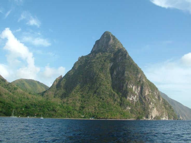 Explore The Beauty Of Caribbean: St Lucia Pitons, Petit Piton
