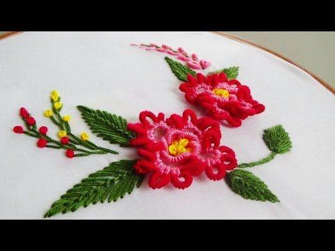 Hand Embroidery: Brazilian Embroidery - YouTube