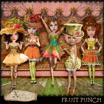 Fruit Punch Art-dolls