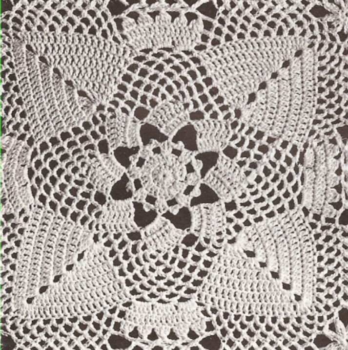 148 best bedspreads images on pinterest bedspread crocheted pinecone square motif block bedspread crochet pattern dt1010fo