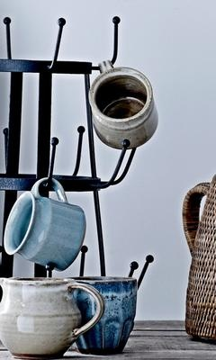 Fairtrade mugs from Bloomingville <3